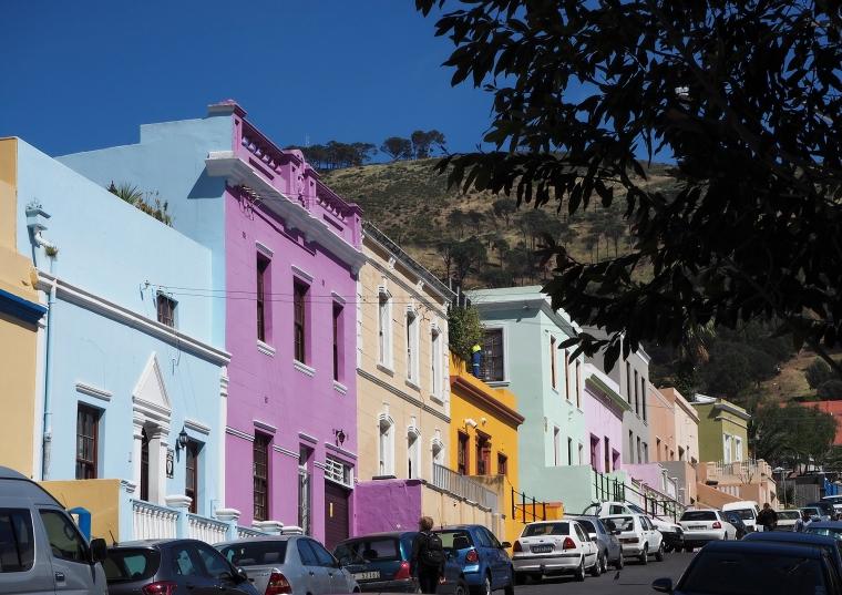 Färgglada hus