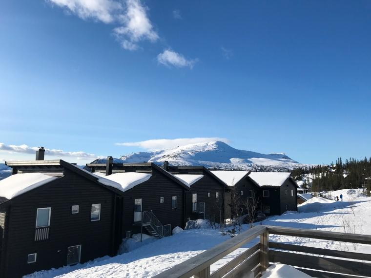 Utsiktsbild på Åreskutan.