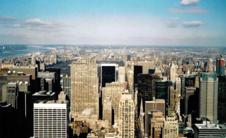 Utsikt över en storstad