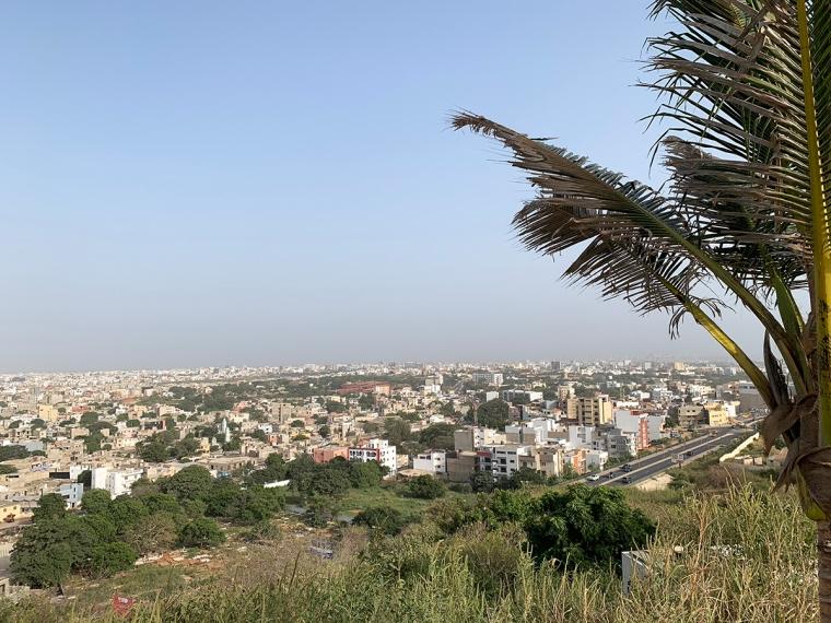 Utsikt över en storstad.