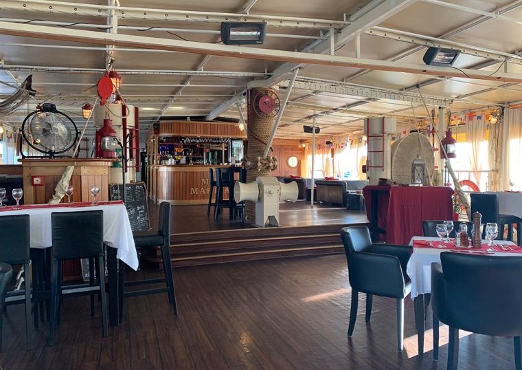 En restaurang i martint tema.