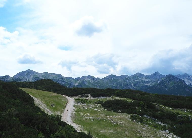 Berg och vandringsled